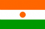 Niger Large Country Flag - 3' x 2'.